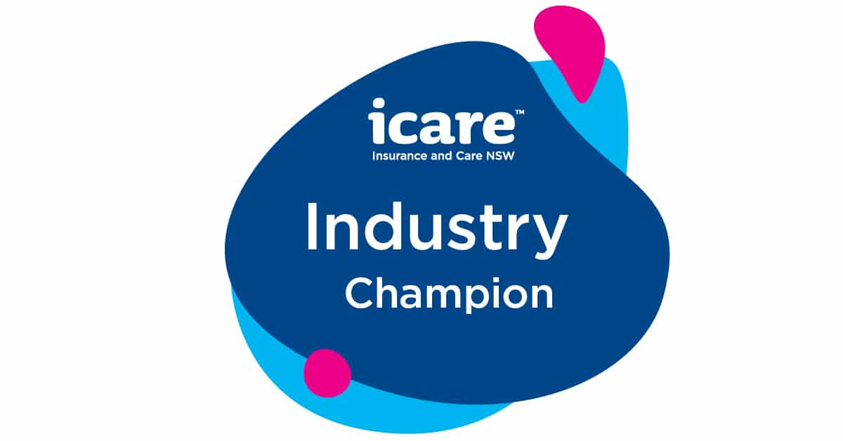 Gallagher Workplace Risk icare industry champion of 2020